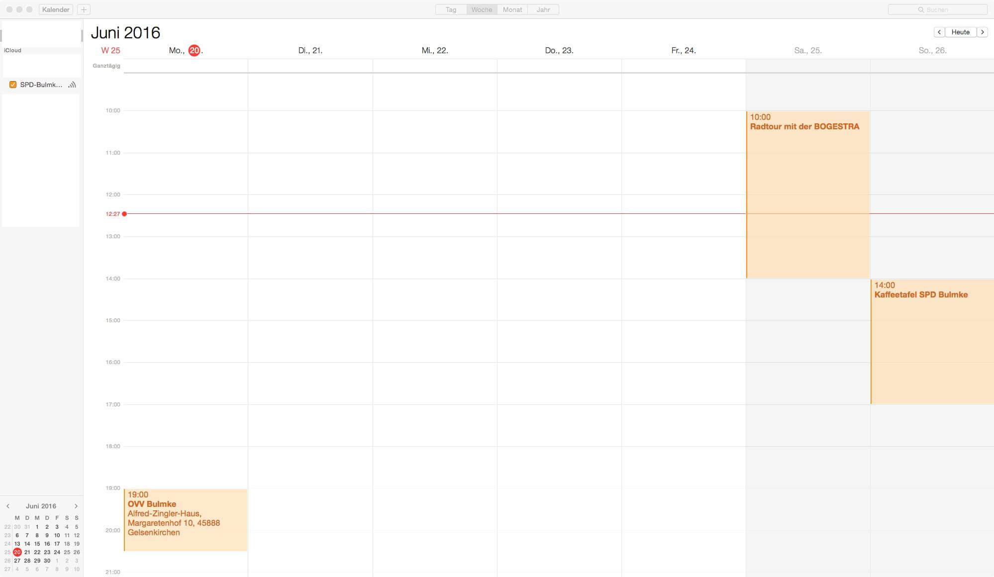 Apple Kalender